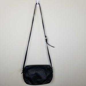 Cole Haan genuine leather black crossbody purse